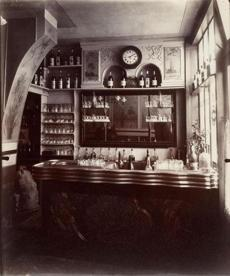 """Marchand de Vin, Rue Boyer"" by Eugène Atget is up in ""Paris as Muse: Photography, 1840s-1930s."""